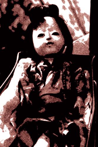 spooky ass doll