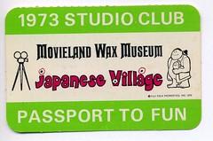 Japanese Village Club Card