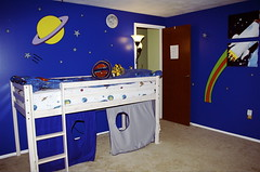 a space theme is a great start for decorating a boys bedroom because its colorful graphic and it reflects his interests check out some pictures for