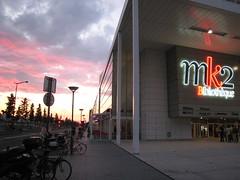 MK2 Bibliotheque (jezon) Tags: sunset paris bnf mk2