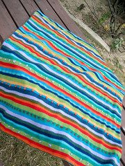 Wild Stripes Blanket (Vaedri1) Tags: knitting blanket knitty wildstripes