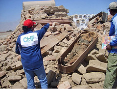 The Aftermath, Earthquake hits Peru