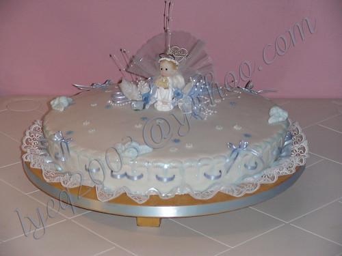 Tortas de bautizo niño - Imagui