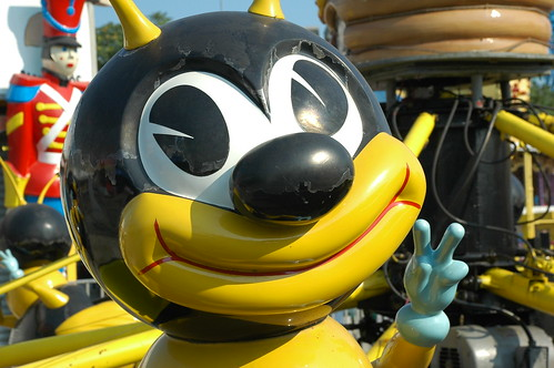 Disturbing Bee