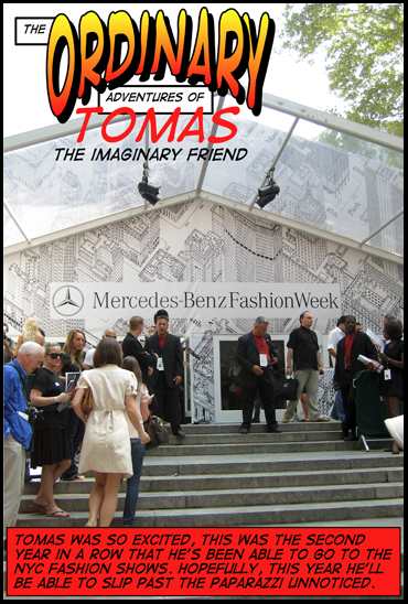 Tomas Goes to the NYC Fashion Shows