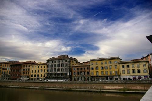 Pisa_Sobre el rio Arno