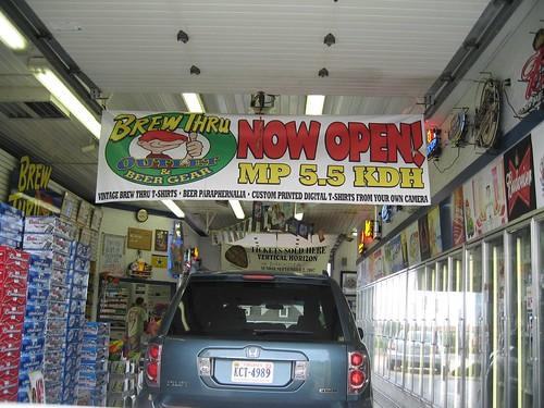 Drive thru liquor store houston