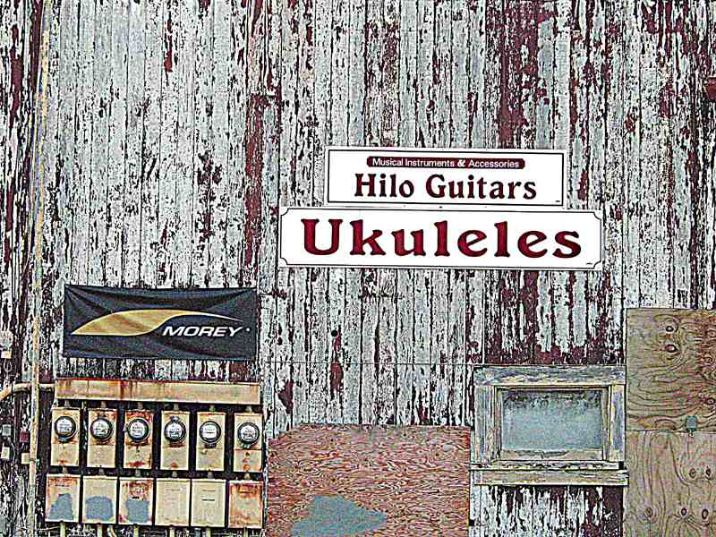 Taken in Hilo Hawaii - Hilo Guitars (c) David Ocker