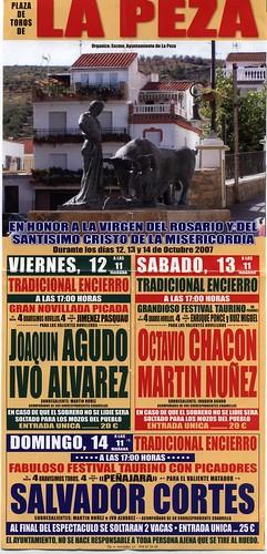 Cartel Fiestas 2007