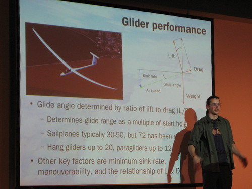 Hacking the atmosphere: Glider performance