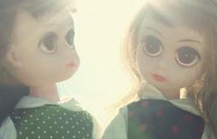 New susies! (Kirbee {Sugar Sweet Dreams}) Tags: twins glare susiesadeyes