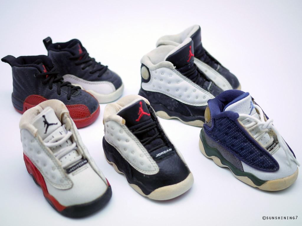 Sunshining7 - Nike Air Jordan Baby Shoes - Original (sunshining7) Tags: baby  vintage