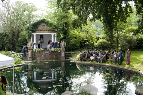 An idyllic location for the ceremony