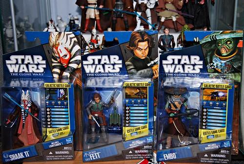 Star Wars: Clone Wars Oct '10 haul