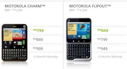 5145493125 b5c900678e Motorola Charm And Flipout Now Available At Maxis