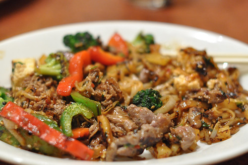 Beef and Vegetable Asian Stir-Fry at bd's Mongolian Grill ~ Burnsville, MN