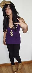 Wardrobe Remix - 23 (katieeeeeeeeee) Tags: portrait fashion sign gold peace remix spray dollar wardrobe bling ghetto