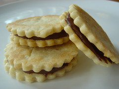 nutella biscuit sandwich cookies | sincerely yours, dena