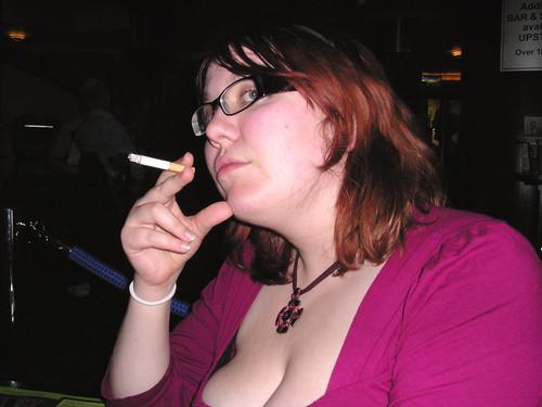 Bbw wife smoking