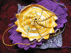 Spiral Swirl - dishcloths/washcloths