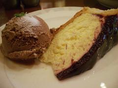 ブルーベリーチーズケーキ@ジェノワーズ