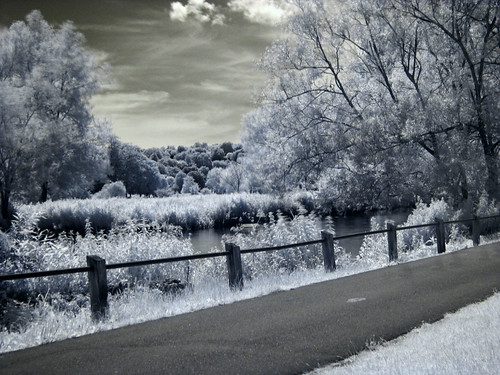 Infrared River Avon