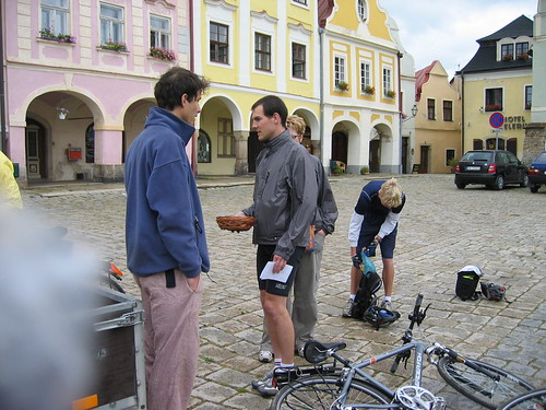 Getting started, the second day in Telc