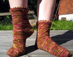 Sockapalooza socks, 3