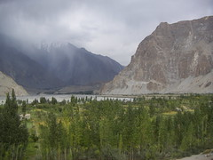 View Of Jan Abad -Passu (Pasvic Surgeon) Tags: pakistan hunza passu