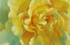 Rose, by Suppharat Watcharin, 2007, oil on canvas, 40X60cm