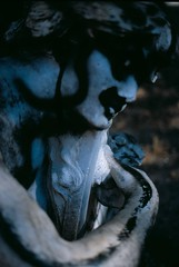 Poesia pagana (Lebeg) Tags: statue poetry poesia statua livorno vandalismo leghorn paganpoetry villafabbricotti lebeg pisasocialevent