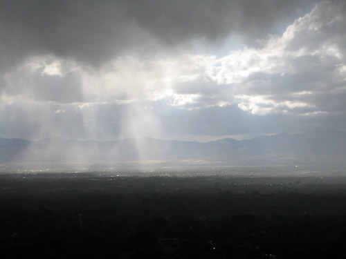 Clouds over the Salt Lake Valley