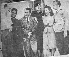 Periodista Alfonso Tealdo y amigos.