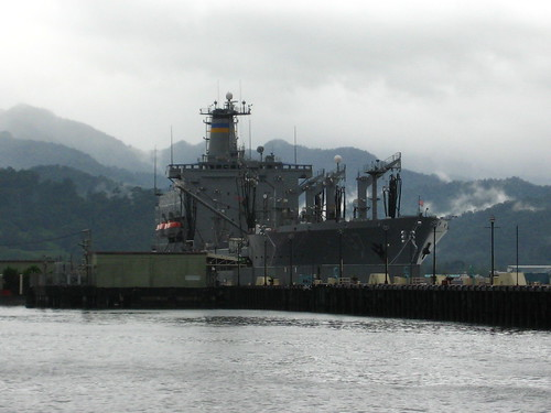 Naval ship in Subic