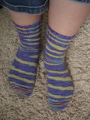 1st Knit Socks