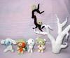 (halixia) Tags: bear dog tree cute bird crochet tiny amigurumi kodama ganchillo