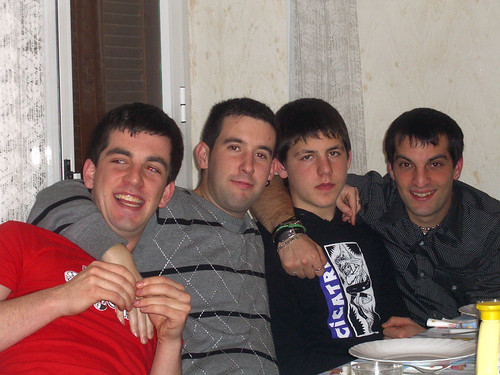 Gorka, Rubén, Ion, and Maikel