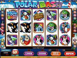 Polar Bash Flash Video Slot