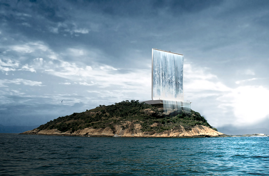 Gigantic-solar-waterfall-for-2016-Olympics