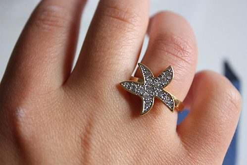 starfish ring small