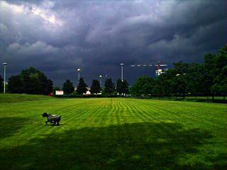 Milano, Parco Monte Stella - II° temporale in arrivo - 14 Maggio 2010