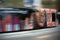 tramway (< Nick Friend >) Tags: street city tram australia melbourne victoria panning