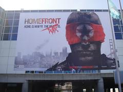 E3 2010 giant Homefront banner
