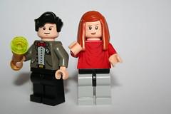 Da man and Pond (Spielbrick Films) Tags: pond amy lego who 11 karen doctor minifig minifigs 11th gillan eleven philip minifigure mattsmith eleventh minifigures corsius spielbrick