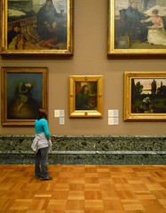 Tate Gallery with Beata Beatrix and The Vale of Rest
