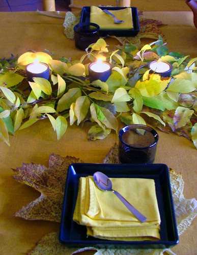 tablescape brown&yellow4