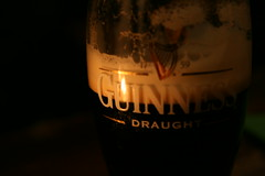 Guinness (zap358) Tags: ireland dublin beer glass canon dark eos pub sigma eire guinness delight foam candlelight pint pleasure stout draught 1770mm 400d top20drinks