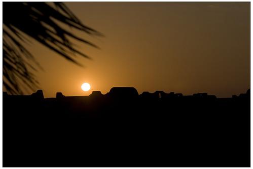 Riu Palace Cabo sunset orb