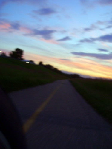 1100 KM into the Sunset