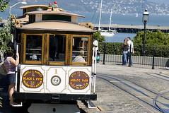 cable car (Charles image world) Tags: sanfrancisco cablecar streetcar